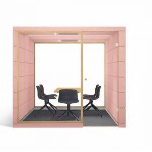 cabina acustica birou